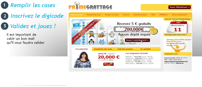 inscription jeu grattage